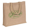 Custom promotional Jute Shopping Bag hemp bag