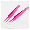Hot Pink Lash Tweezers