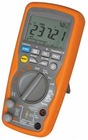Industrial multimeter measurements of AC/DC voltage