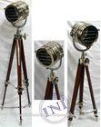Business Gift Focus Light, Antique Floor Standing Lamps, Marine Floor Tripod Lamps
