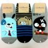 Korea Fashion Man Character Socks / Stripe Socks / Dot Socks / Gentleman Socks - Man 200 Denier a-35