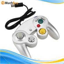 2 LOT Silver Controller for Ninten Gamecube System N64 Game joystick