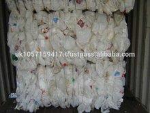 GRADE AAAA/B HDPE PLASTIC BOTTLE SCRAP IN BALES EXPORT RECYCLED MILK BOTTLES HOUSEHOLD WASTE