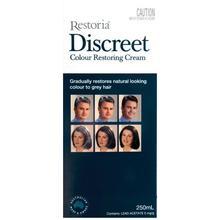 Restoria Discreet Colour Restoring Cream 250mL Reduce grey hair - Suitable for men and women COLOR