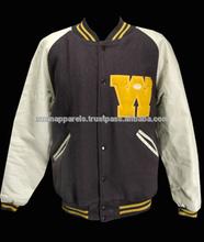 Varsity jacket.wholesale most fashion woman american denim varsity jacket