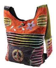 Hippie slings bags, Canvas shopping bags, Etnnic cross body bags