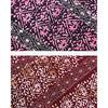 African batik print fabric
