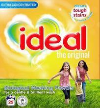 Ideal Washing Powder 10KG SACK - 160 Wash Pack Size - Made in UK - Biological