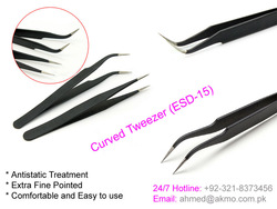 ESD Antistatic ESD-10 ESD-11 ESD-12 ESD-13 ESD-14 ESD-15 ESD-16 ESD-17 VETUS Tweezers for Eyelash Extension by AKMO