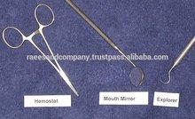 Orthodontic pliers / Dental Syringes / Articulating Forceps / Matrix retainer / Amalgam well