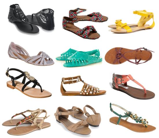 Memilih Sandal