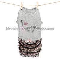 dog apparel Louis Dog Fabulous Me Dress- Pink dress clothes