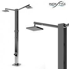 Inoxstyle Tecno Cube 100 2B 1L EvoS Outdoor Steel Shower