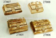 Handmade Jewelry Bone Boxes, jewelry gift boxes