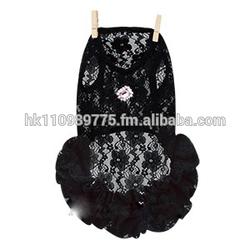 promotional dog Louis Dog Party! Party! Dress - Black apparel dress clothes
