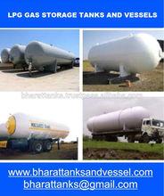 LPG Gas Storage Tanks And Vessels