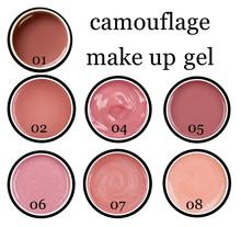 pollymer make up coumuflage uv gel 5,15,50,250,1000 ml