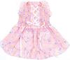 pet custom logo dog Hearts & Tarts Corsette Hand-Smocked Dress apparel dress clothes