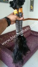 Virgin Remy Single Drawn Bulk Indian Hair - Natural Wavy