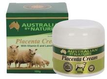 Australian By Nature Placenta Cream 100g with Vitamin E, Lanolin, Collagen & Elastin (Premium) Australian made