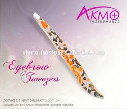 New Arrival of Attractive Designed Eyebrow Tweezers under your own Brand Logo/ Cosmetic Tweezers/ Slanted Tweezers