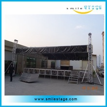 aluminum assembling stage truss roof for outdoor concert with high quality