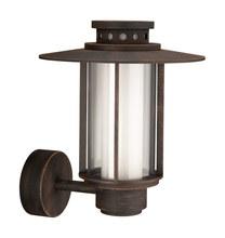 SANTIAGO wall lantern rust 1x14W 230V
