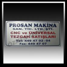 Good quality colorful custom metal labels