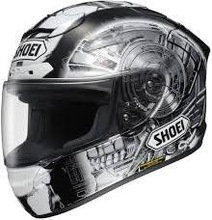 SHOEI X-TWELVE (X-12) KAGAYAMA 4 TC-5 FULL FACE MOTORCYCLE HELMET