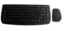 Ultra-thin 2.4Ghz Wireless mini Keyboard and Optical Mouse Combo Good Quality but Inexpensive