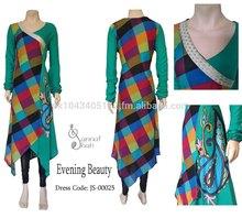 Pakistani Designer Party/Wedding Dress in Chiffon with chiffon dupatta & pajama