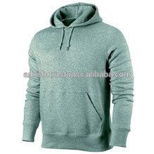Wholesale 100% micro fiber work man casual wear front zipper hoodies