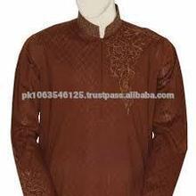Designer Mens Kurta GI_5031` - RICH WEDDING MENS KURTA - Kurta Shalwar Designs for Men with heavy embroidery - Pakistani Men's