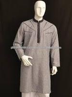 Designer Mens Kurta GI_6006 - RICH WEDDING MENS KURTA - Kurta Shalwar Designs for Men with heavy embroidery - Pakistani Men's
