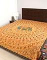 Bestickte tagesdecke, indische tagesdecke, indischer baumwolle bettdecke