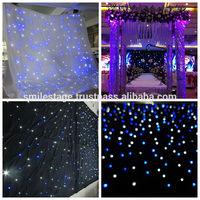 Wholesale Customized size led light curtain wall/ led table cloth