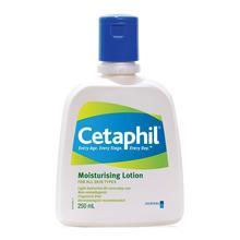 Cetaphil Moisturising Lotion 250mL (dermatological formulation) Suitable for dry skin, free of lanolins, parabens and fragrance