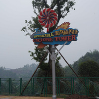 Creative Fiberglass Signage Board For Theme Park Project