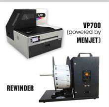 VP700 Digital Label Printer with 1 Set Ink & Printhead
