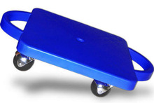 Gym Scooter, 12'' Blue with Hand, Price/EACH