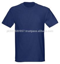 Custom Bamboo Fiber Blue Men's Cheap Blank T Shirts