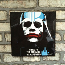 Pop Art - Darth Vader - Come to the darkside we have weed