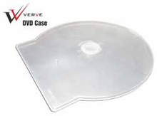 DVD Case VERVE Transparent shell