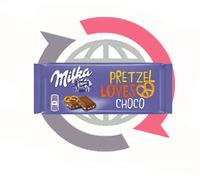 MILKA PRETZEL&CHOCO Loves 100G