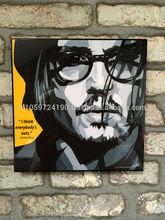 Pop Art -Johnny Depp - I think everybody is nuts