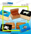 Wooden Pillbox Souvenir
