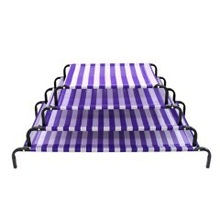 (P11105~P11108) Daydream Dog Bed - Classic - Purple & White
