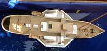 Wooden cruise model John A.mos