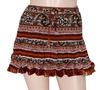 Beautiful Crinkle Fashion Short Mini Skirts from India
