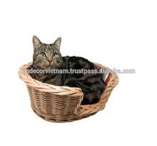 Wicker cat bed /rattan cat bed/wicker bed pets